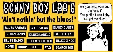 "Sonny Boy Lee's ""Ain't nothin' but the blues!"""